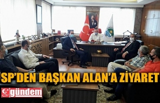 SAADET PARTİSİNDEN BELEDİYE BAŞKANI ALAN'A...
