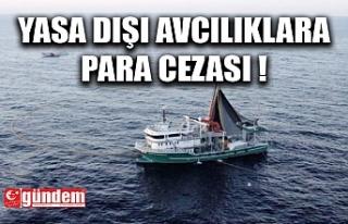 SAHİL GÜVENLİK KOMUTANLIĞI YASADIŞI AVCILIĞA...