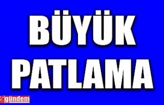 SON DAKİKA! KDZ EREĞLİ'DE PATLAMA OLDU!