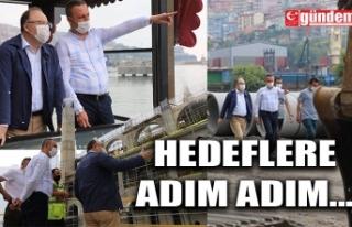 VALİ TUTULMAZ, BELEDİYE BAŞKANI ALAN İLE BİRLİKTE...