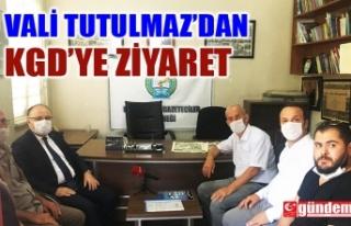 VALİ TUTULMAZ'DAN KGD'YE BASIN BAYRAMI...