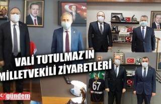 VALİ TUTULMAZ'DAN ZONGULDAK MİLLETVEKİLLERİNE...