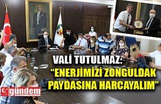 VALİ TUTULMAZ, GAZETECİLERİ KABUL ETTİ