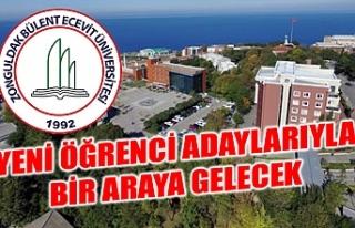ZBEÜ, YENİ ÖĞRENCİ ADAYLARIYLA ONLINE ORTAMDA...