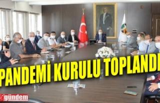 ZONGULDAK İL PANDEMİ KURULU VALİ TUTULMAZ BAŞKANLIĞINDA...