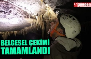 'ZONGULDAK MAĞARALARI' BELGESELİNİN ÇEKİMLERİ...