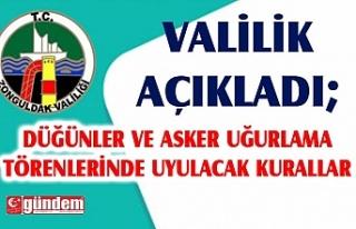ZONGULDAK VALİLİĞİNDEN COVİD-19'A KARŞI...