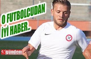 ZONGULDAKSPOR'LU FUTBOLCUDAN İYİ HABER !