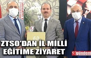 ZTSO'DAN İL MİLLİ EĞİTİM MÜDÜRÜ DEMİR'E...