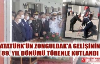 ATATÜRK'ÜN ZONGULDAK'A GELİŞİNİN 89....