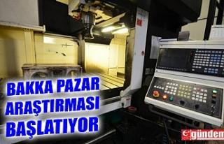 BAKKA MADEN MAKİNELERİ SEKTÖRÜNDE PAZAR ARAŞTIRMASI...