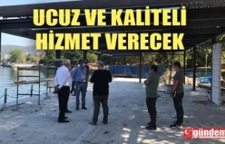 BAŞKAN POSBIYIK, 'HALK KAFE' ÇALIŞMALARINI...