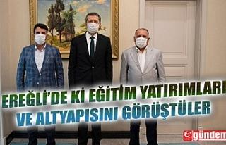 ÇAKIR VE ERDOĞAN'DAN MİLLİ EĞİTİM BAKANI...