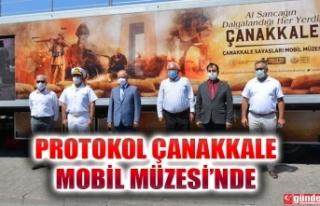 ÇANAKKALE SAVAŞLARI MOBİL MÜZESİ EREĞLİ'DE...
