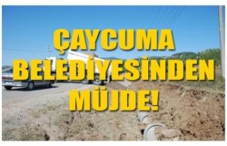 ÇAYCUMA BELEDİYESİ YAĞMUR SUYU ŞEBEKE HATTI İNŞAATINA...