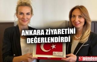 CHP ZONGULDAK KADIN KOLLARI BAŞKANI KIR, ANKARA ZİYARETİNİ...