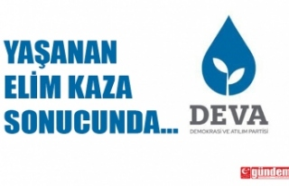 DEVA PARTİSİ PROGRAMLARINI ERTELEDİ