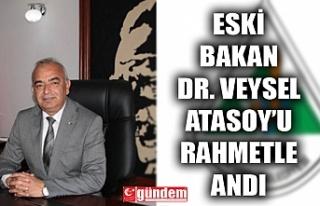 DEVREK BELEDİYE BAŞKANI BOZKURT, ESKİ BAKAN DR....