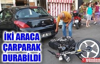 EHLİYETSİZ MOTOSİKLETLİ DİREKSİYON HAKİMİYETİNİ...