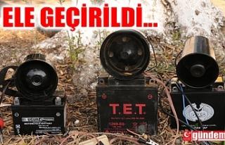 ELEKTRONİK BILDIRCIN SESİ ÇIKARAN CİHAZLARA EL...