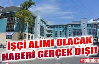 EREĞLİ BELEDİYESİ'NE PERSONEL ALINACAĞI...