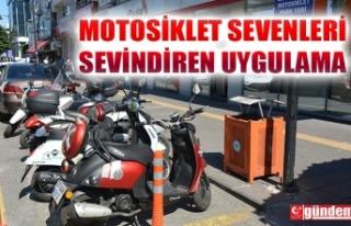 EREĞLİ'DE 5 NOKTADA ÜCRETSİZ MOTOSİKLET...