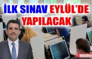 EREĞLİ MEB E-SINAV MERKEZİ İLK SINAVINI EYLÜL'DE...