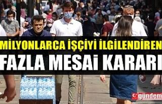FAZLA MESAİ KARARI YARGITAY'DAN ÇIKTI!