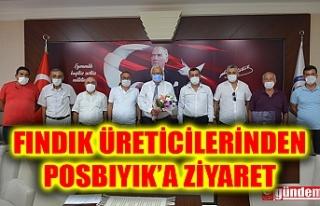 FINDIK ÜRETİCİLERİNDEN BAŞKAN POSBIYIK'A...