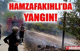 HAMZAFAKIHLI'DA YANGIN !
