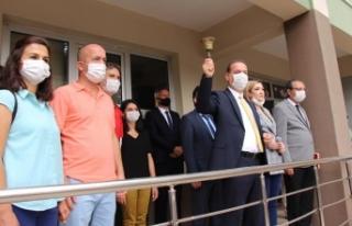 İL MİLLİ EĞİTİM MÜDÜRÜ TOSUN, TEMSİLİ DERS...