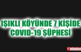 IŞIKLI KÖYÜNDE 7 KİŞİ COVID-19 ŞÜPHESİYLE...