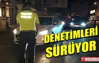 KDZ. EREĞLİ'DE POLİS EKİPLERİNİN DENETİMLERİ...