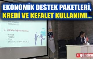 KOSGEB VE KGF UZMANLARI TARAFINDAN TOPLANTI GERÇEKLEŞTİRİLDİ