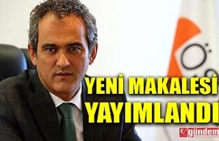 MİLLİ EĞİTİM BAKAN YARDIMCISI ÖZER'İN...