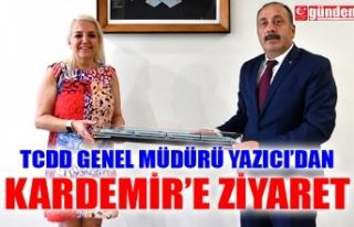 TCDD GENEL MÜDÜRÜ YAZICI'DAN KARDEMİR'E...