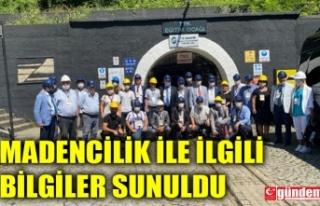 TGC HEYETİ TTK EĞİTİM OCAĞI VE MADEN MÜZESİNİ...