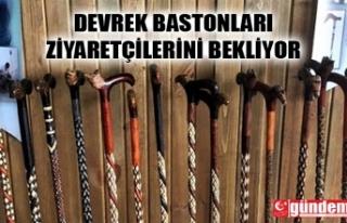 TÜRKİYE'NİN İLK BASTON MÜZESİ'NE ZİYARETÇİLER...