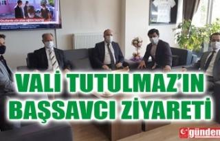 VALİ TUTULMAZ'DAN BAŞSAVCI YÜCEDAĞ'A...