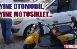 YİNE MOTOSİKLET, YİNE OTOMOBİL... YİNE MOTOSİKLET...