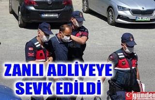 YOL VERME KAVGASININ CİNAYET ZANLISI ADLİYEYE SEVK...