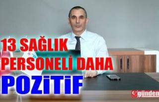 ZONGULDAK'TA 13 SAĞLIK PERSONELİNİN TESTİ...
