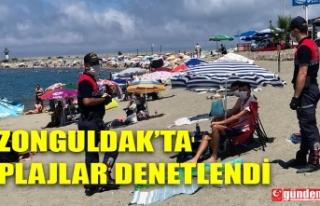 ZONGULDAK'TA PLAJLAR DENETLENDİ