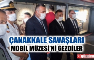 ZONGULDAK'TA PROTOKOL ÇANAKKALE SAVAŞLARI MOBİL...