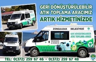 ZONGULDAK BELEDİYESİ ATIK TOPLAMA ARACINI HİZMETE...