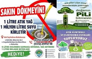 ZONGULDAK BELEDİYESİ SIFIR ATIK PROJESİNE DESTEK...