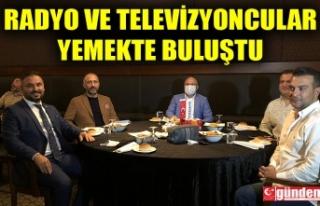 ZONSİAD TARAFINDAN RADYO VE TELEVİZYONCULARA YEMEK...