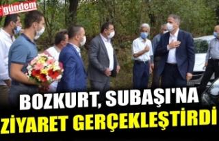 AK PARTİ İLÇE BAŞKANI BOZKURT, SUBAŞI'NA...
