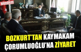 AK PARTİ İLÇE BAŞKANI BOZKURT'TAN KAYMAKAM...