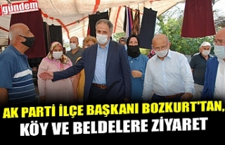 AK PARTİ İLÇE BAŞKANI BOZKURT'TAN, KÖY VE...